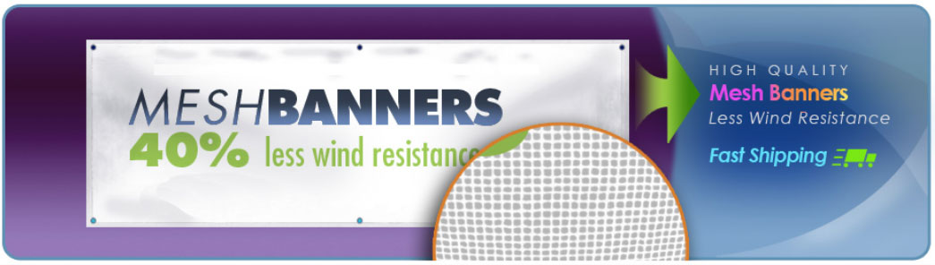 Mesh Banner Header Graphic